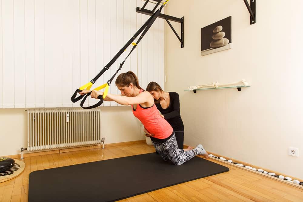Physiotherapie TRX Training Gemeinschaftspraxis Mödling