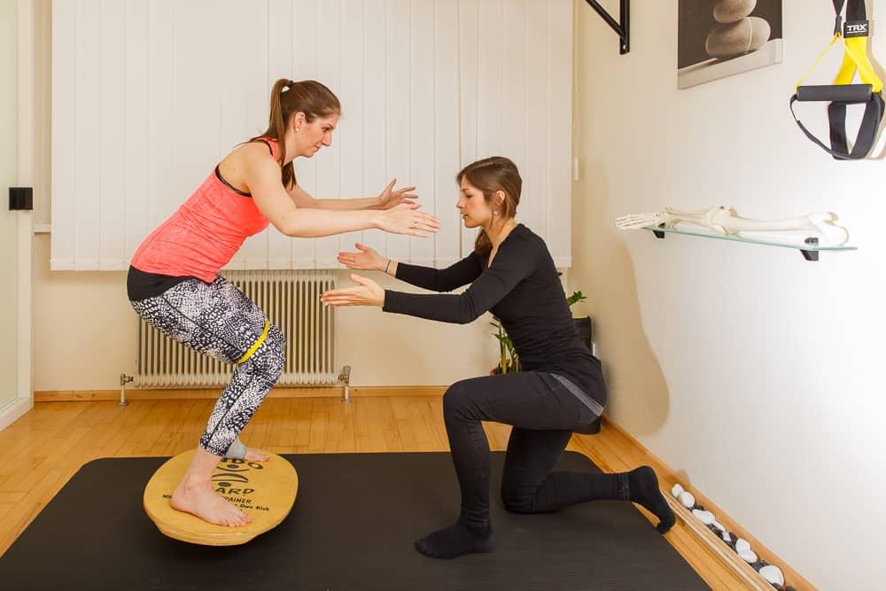 Physiotherapie Stabilisationstraining Gemeinschaftspraxis Mödling