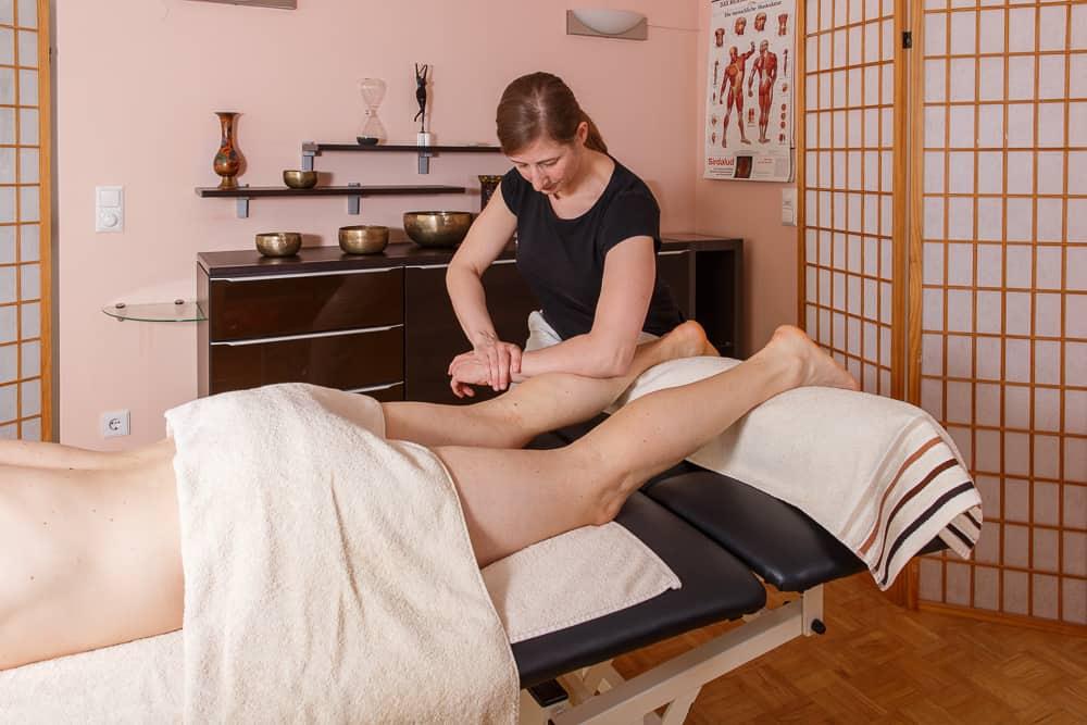 Massage - Sportmassage Bein Gemeinschaftspraxis Mödling