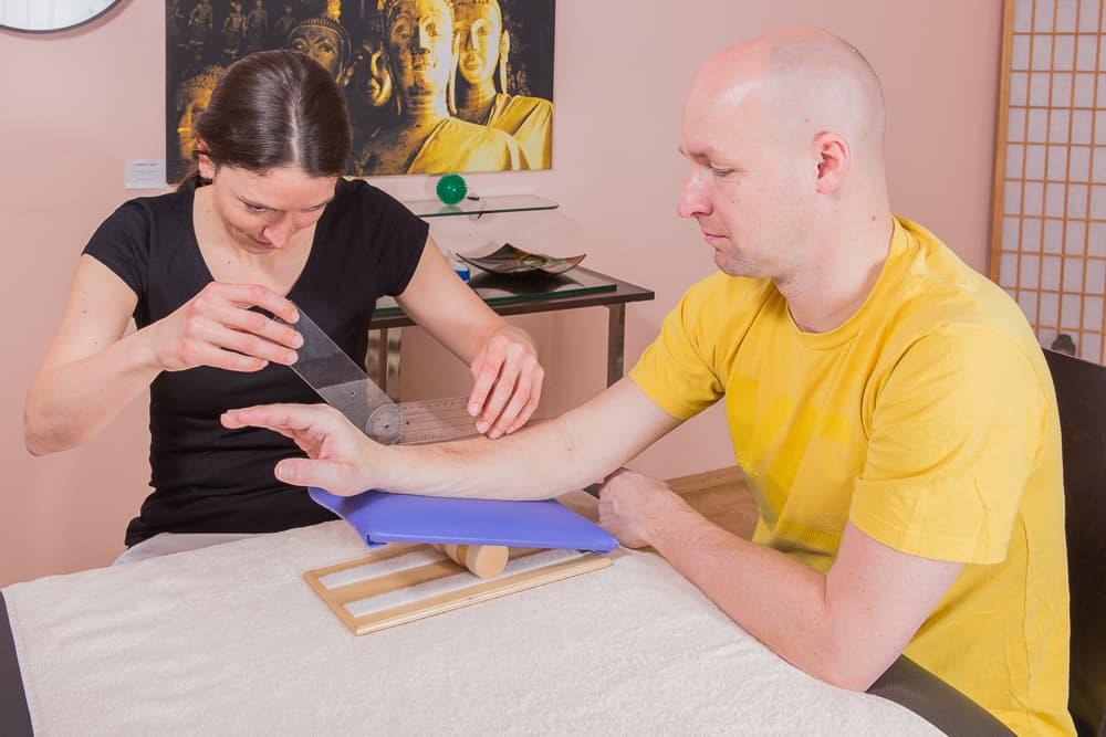 Ergotherapie- Handgelenksmessung- Mödling