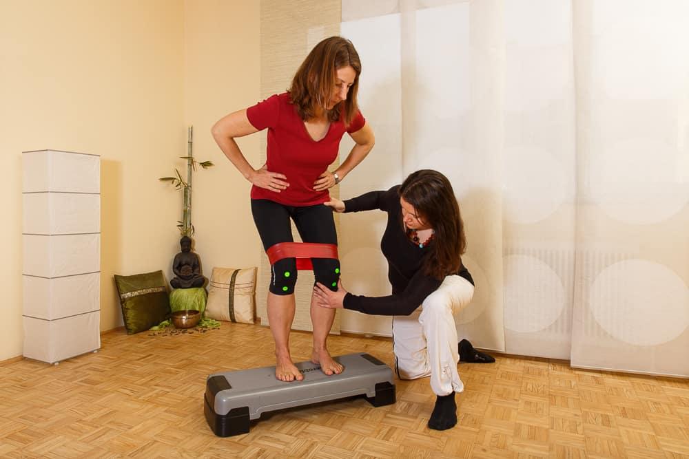 Physiotherapie Beinachsentraining Gemeinschaftspraxis Mödling